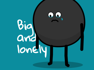 Big and lonely