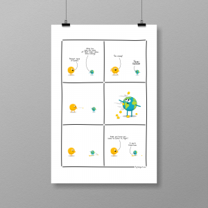 Here comes the Sun - print