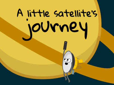 A little satellite's journey
