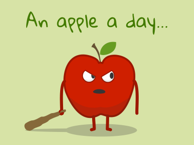 An apple a day…