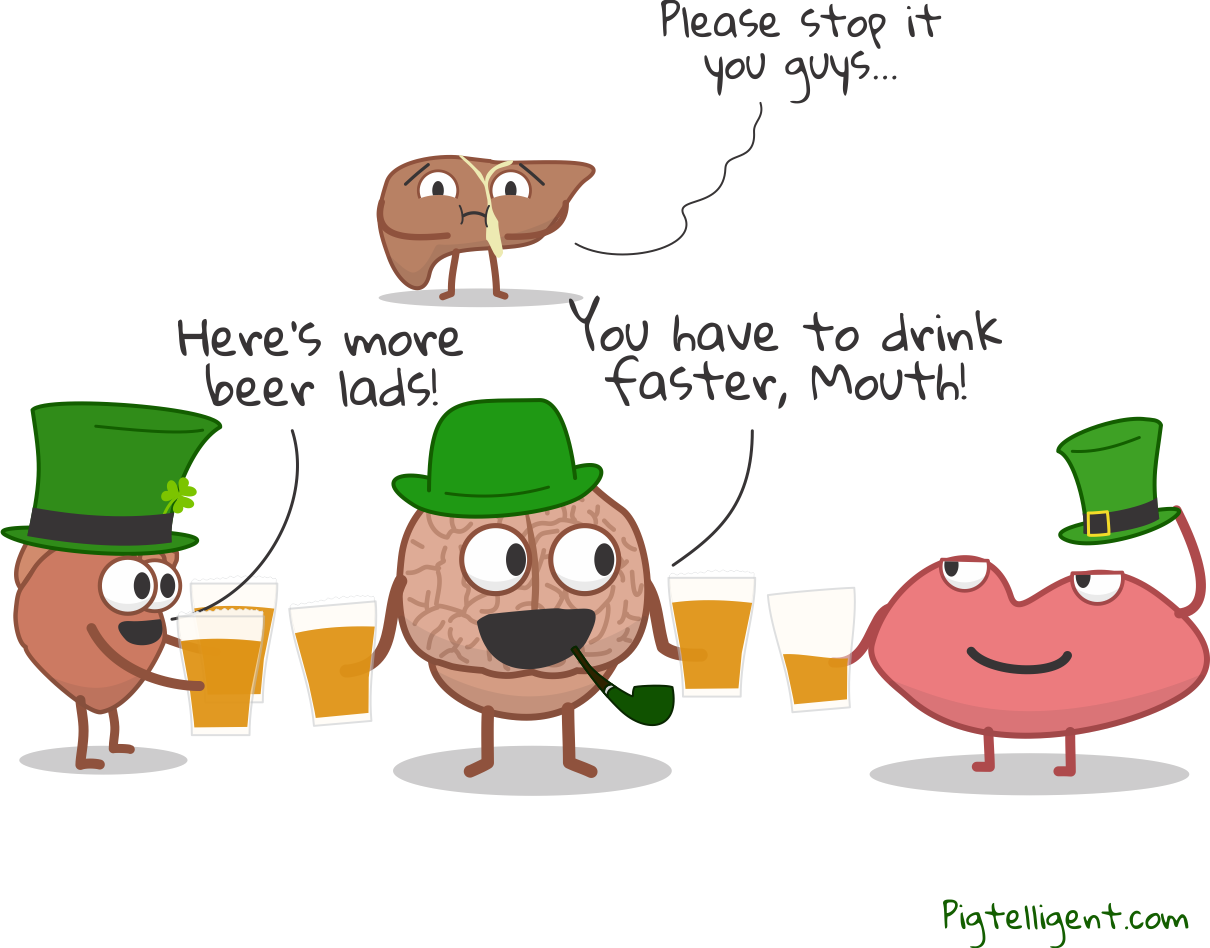 Liver on St Patrick's Day