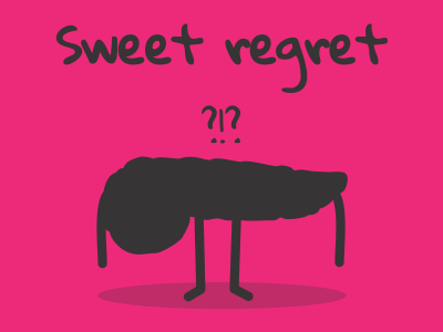 Sweet regret