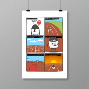Your own race - print